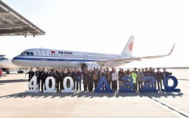 Air China realiza pedido por 18 Airbus A320neo