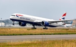 Brasil y Argentina recibirán vuelos con A350-1000 de British Airways