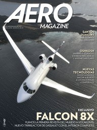 Capa Revista AERO Magazine América Latina 5 - Exclusivo Falcon 8X