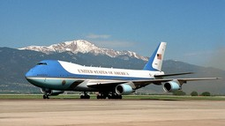 El jet particular de Trump es mejor  que el Air Force One?